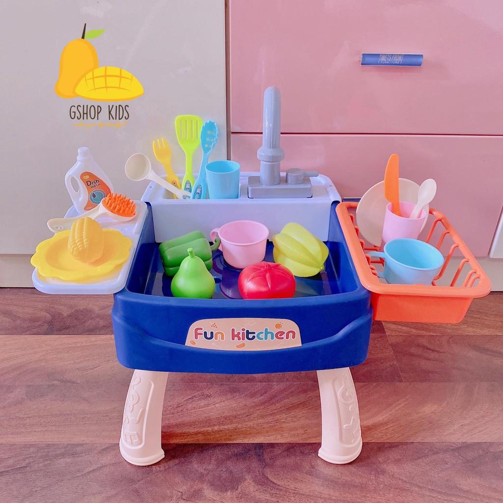 [CÓ SẴN] Bộ bồn rửa bát và rau củ cho bé