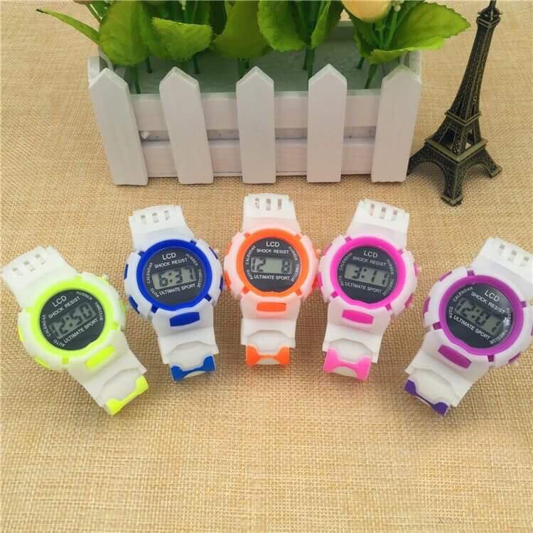 [Mã WTCHNOV20 giảm 20K đơn 99K] (Giá sỉ ) Đồng hồ thời trang trẻ em led SHOCK RESIST
