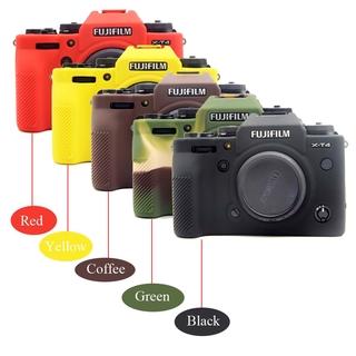 For Fuji X-T4 Camera Soft Silicone Protector Skin Case For Fujifilm XT4 Rubber Camera Cover