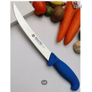 Dao lọc thịt 2054021, 21cm, cán xanh, lưỡi cong – Nhập khẩu EICKER * Đức