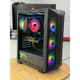 THÙNG PC THẾ HỆ 10 MỚI NHẤT, SIÊU MẠNH - H410/i3-10100F/8GB/GTX1650-4G/120GB/500W