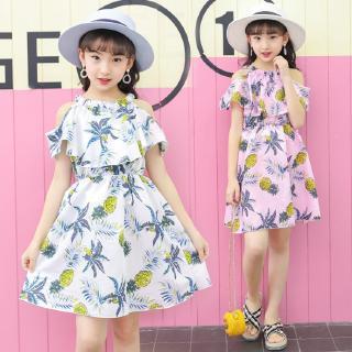 ✨CindyMom✨ Váy Cho Bé Gái - Kiểu Dáng Quả Dứa - Váy Voan Dây - Váy Cho Bé Gái Vai Lạnh - Quần áo Bé Gái (13 -36kg)