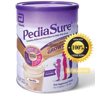 Sữa Pediasure Úc nắp tím 850g