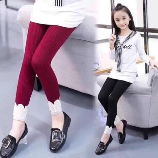Legging len bé gái từ 2-6