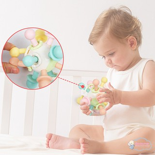 Newborn Teether Glue Tactile Balls Atoms Handball Grasping Ball