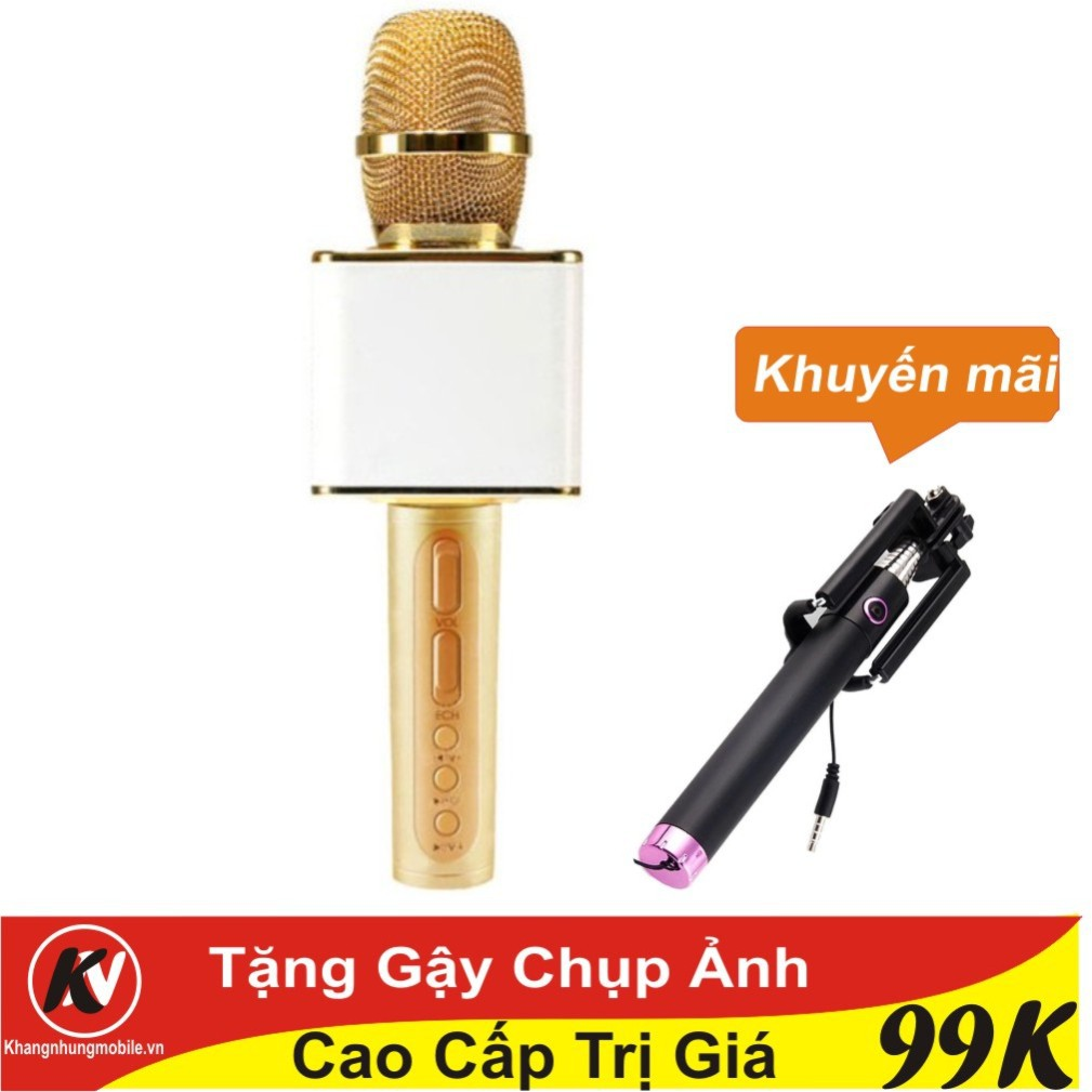 Combo Mic hát Karaoke bluetooth Ys 11 3in1 (Vàng) + Gậy Chụp Ảnh - 3438386 , 1077150713 , 322_1077150713 , 390000 , Combo-Mic-hat-Karaoke-bluetooth-Ys-11-3in1-Vang-Gay-Chup-Anh-322_1077150713 , shopee.vn , Combo Mic hát Karaoke bluetooth Ys 11 3in1 (Vàng) + Gậy Chụp Ảnh