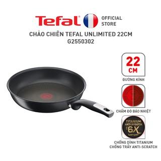 [Mã LIFESEB05 giảm 10% tối đa 100K đơn 300K] Chảo chiên Tefal Unlimited 22cm thumbnail