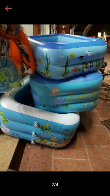 Phao bơi cho bé 150cmx100cmx53cm
