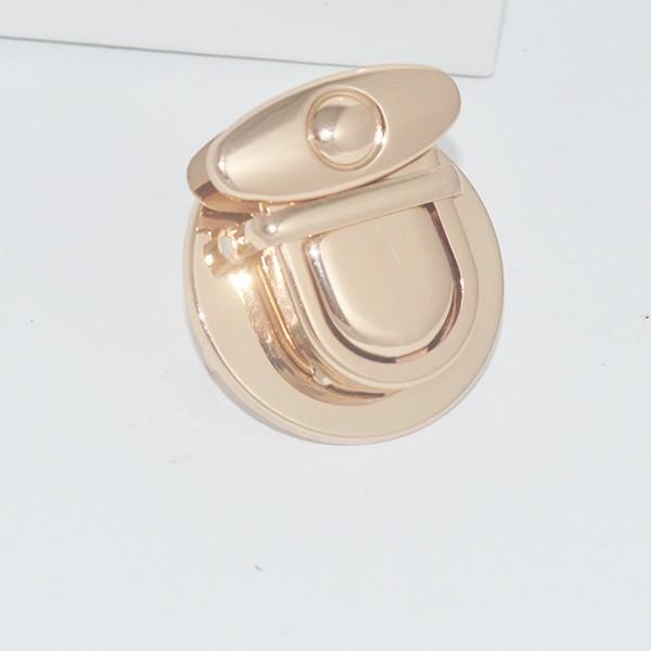 Khoá sập tròn 4cm - phụ kiện túi ví - phụ kiện thủ công handmade