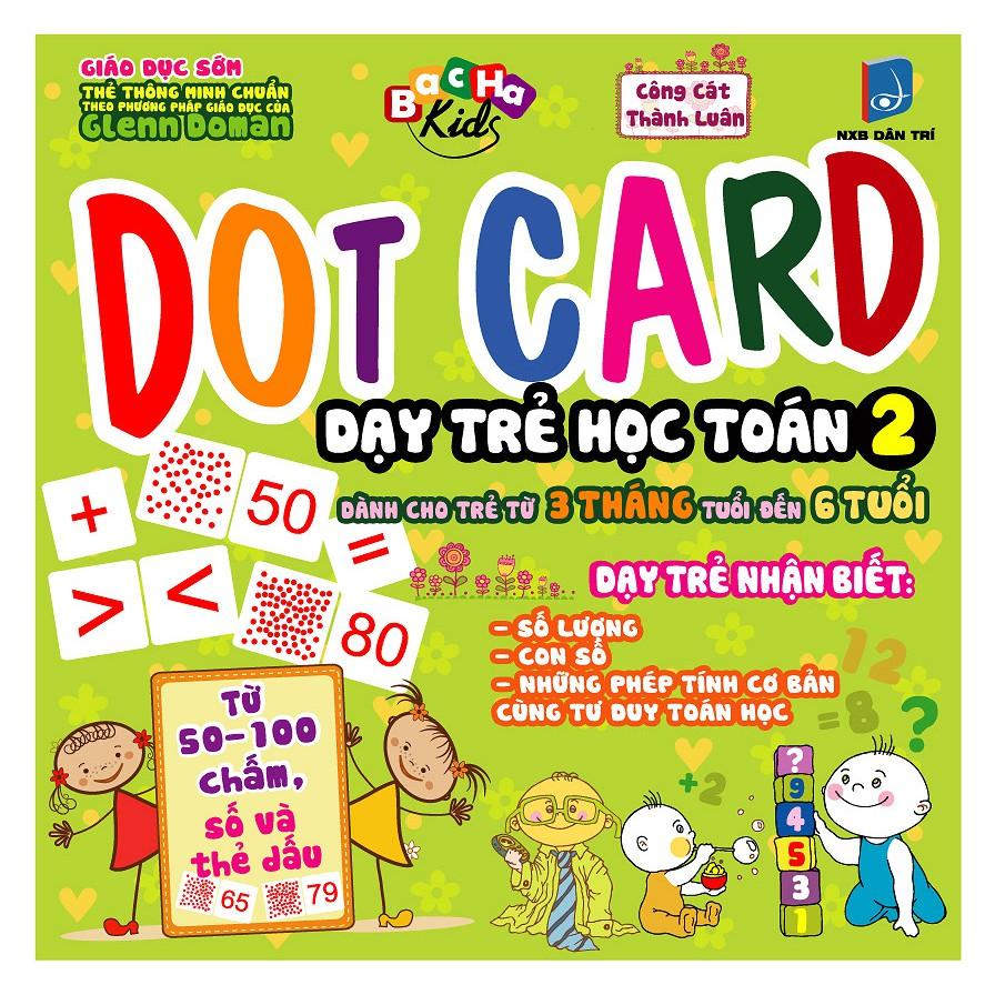 Sách Dot card Dạy Trẻ Học Toán Tập 2