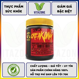 Thực phẩm bổ sung Creatine Mutant Creakong – hỗ trợ phát triển cơ bắp tối ưu (300g)