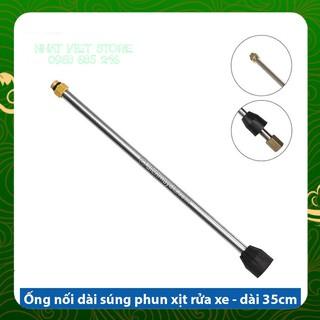 Ống nối dài súng rửa xe áp lực cao của máy xịt rửa áp lực cần xịt rửa xe thanh nối dài - Dài 35cm thumbnail