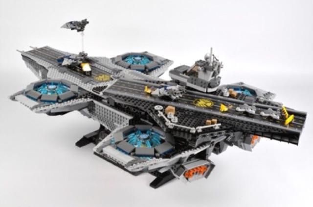 [ Hàng order 7-10 ngày ] Lepin super heroes - 07043 - Tàu sân bay của S.H.I.E.L.D