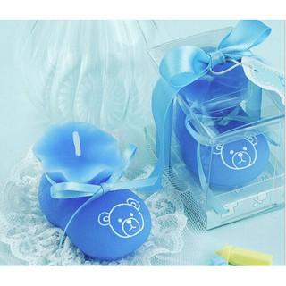 Đôi giày màu xanh dương dùng cho tiệc cưới , sinh nhật thumbnail