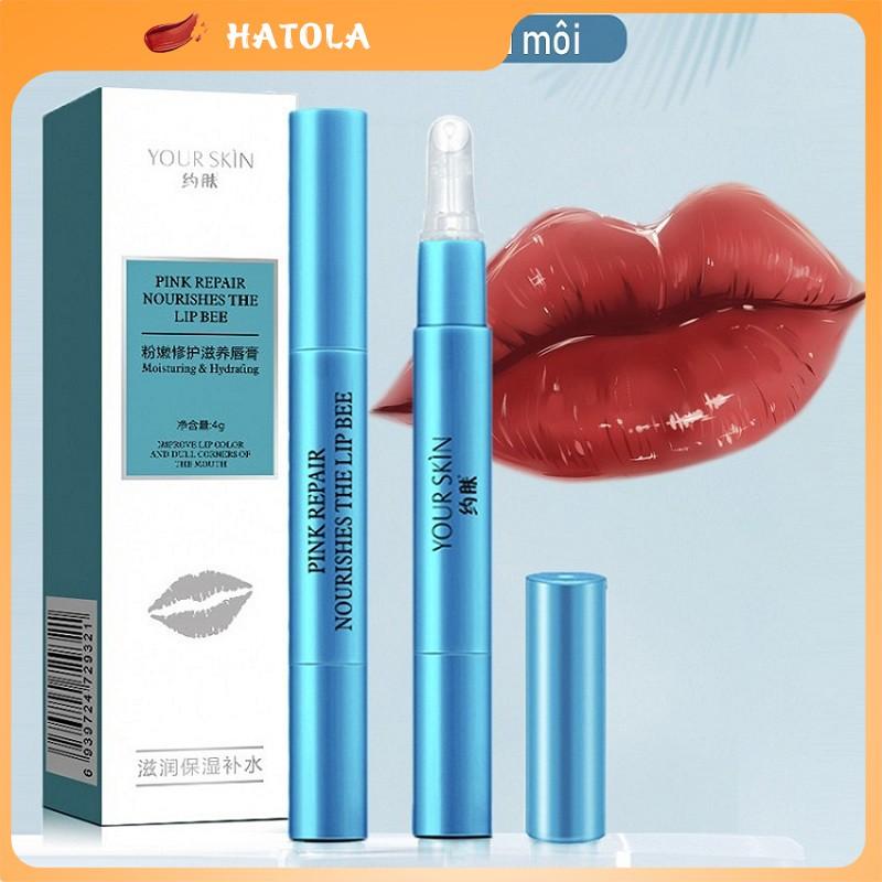 Gel khóa màu son môi giúp giữ màu son bền màu không trôi không lem gel giữ son HATOLA