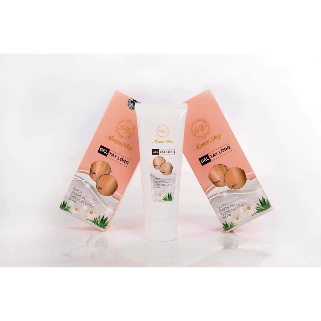 [ Xả Kho ] Kem Tẩy Lông Vĩnh Viễn Mamen Shop 120 ml - Kem Tẩy Lông Nách, Lông Chân Tay nhanh gọn, hiệu quả