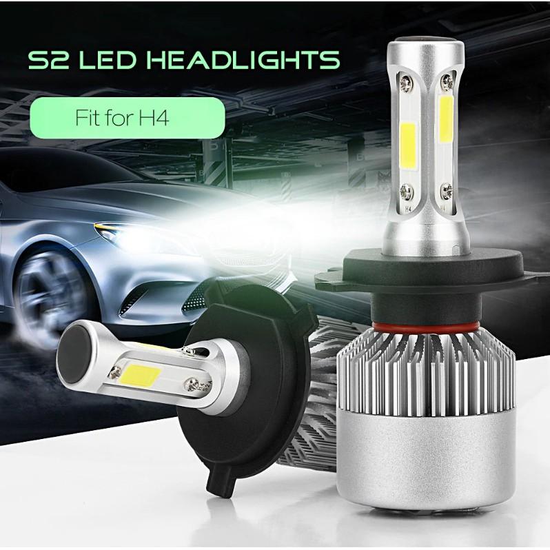 Đèn Led Headlight S2 siêu sáng Ô tô, xe máy (Bộ 2 đèn - Chân đèn H4) - Home and Garden - 3558150 , 1348617804 , 322_1348617804 , 595000 , Den-Led-Headlight-S2-sieu-sang-O-to-xe-may-Bo-2-den-Chan-den-H4-Home-and-Garden-322_1348617804 , shopee.vn , Đèn Led Headlight S2 siêu sáng Ô tô, xe máy (Bộ 2 đèn - Chân đèn H4) - Home and Garden