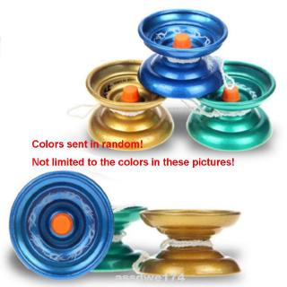High Speed Responsive Portable Student Small Aluminum Alloy Yo-yo