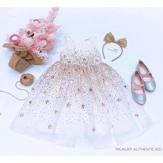 Váy kim tuyến cao cấp H.M màu trắng