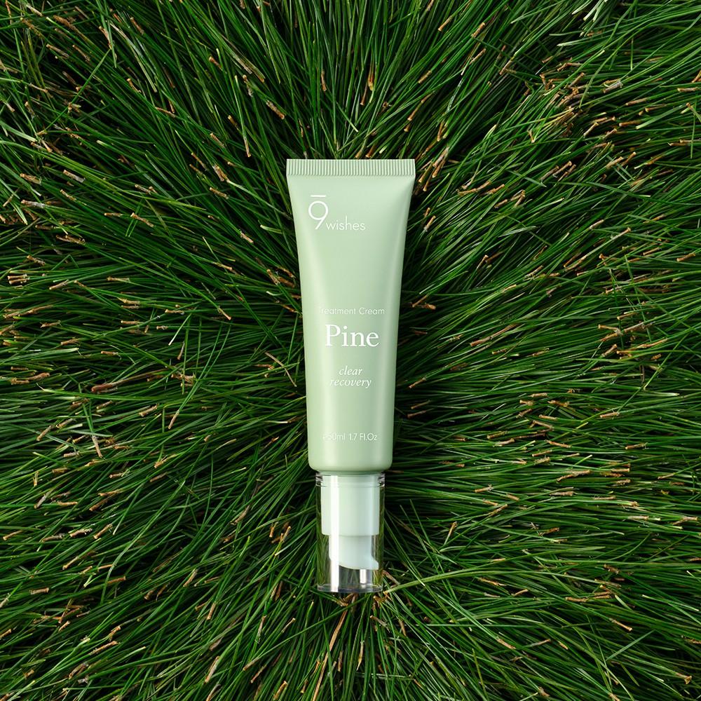 Kem Dưỡng Thanh Lọc, Dưỡng Ẩm và Phục Hồi Da 9Wishes Pine Treatment Cream  50ml   Shopee Việt Nam