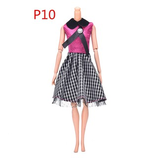 {MUV} Lot Fashion Handmade Dresses Clothes For 11 1/2 Barbie Doll Style Gift{LJ}