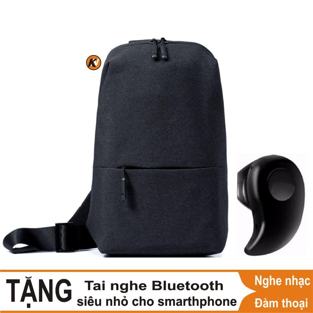 Combo Cặp Balo đeo chéo đa năng Xiaomi urban leisure (Đen) - Hàng chính hãng + Tai nghe Bluetooth si - 3499741 , 1246002577 , 322_1246002577 , 550000 , Combo-Cap-Balo-deo-cheo-da-nang-Xiaomi-urban-leisure-Den-Hang-chinh-hang-Tai-nghe-Bluetooth-si-322_1246002577 , shopee.vn , Combo Cặp Balo đeo chéo đa năng Xiaomi urban leisure (Đen) - Hàng chính hãng