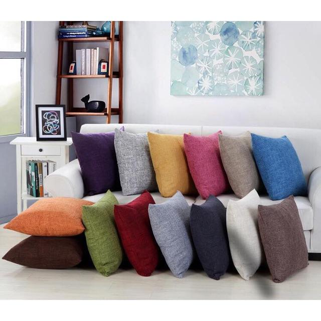 Gối tựa lưng, gối tựa sofa, gối tựa vuông 45x45 ( có ruột )