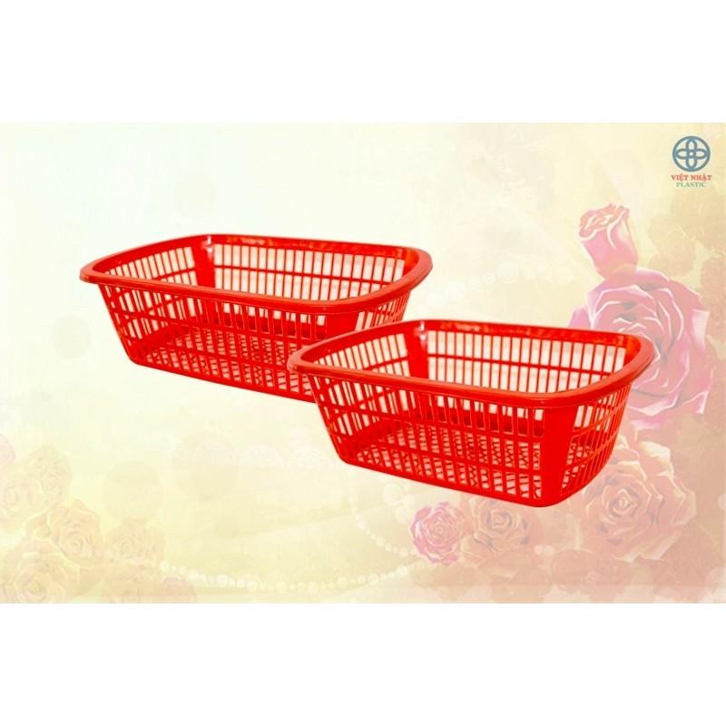 khay rổ sọt vuông nhựa - 22097177 , 2706062807 , 322_2706062807 , 30000 , khay-ro-sot-vuong-nhua-322_2706062807 , shopee.vn , khay rổ sọt vuông nhựa