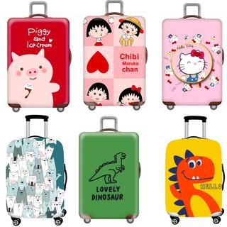 Túi bọc vali - Túi trùm vali KAWS cao cấp - Vải thun co giãn, chống nước, chống bụi thumbnail