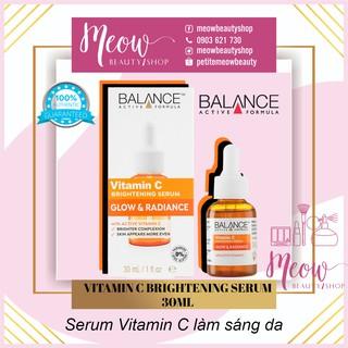 [Mã COS1212 giảm 8% đơn 250K] BALANCE - Serum Trắng Da, Mờ Thâm Balance Active Formula Vitamin C Brightening 30ml thumbnail