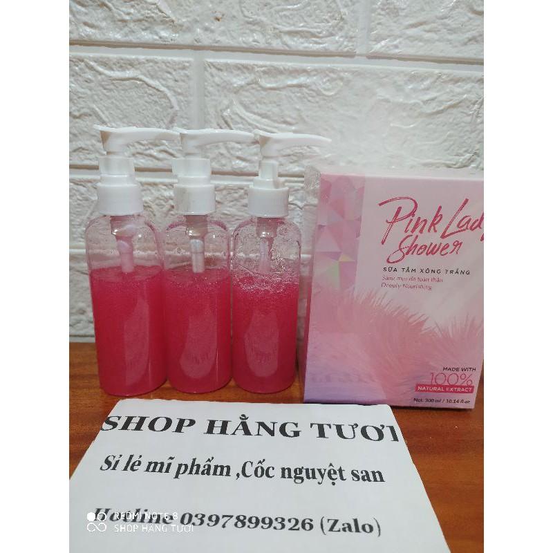 [CAM KẾT CHÍNH HÃNG] Sữa tắm xông trắng hương nước hoa PINK LADY SHOWER ( SỮA TẮM PINK LADY)