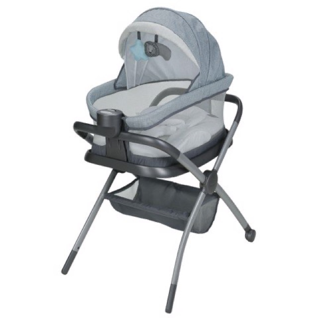 Giường cũi Graco Portable Napper and Changer Day2Dream BS Layne