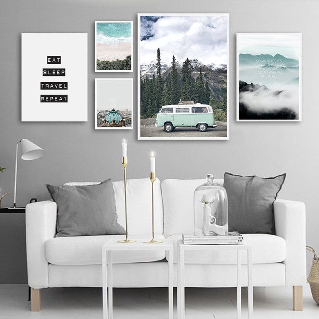 Tranh canvas phong cảnh trang trí nội thất độc đáo