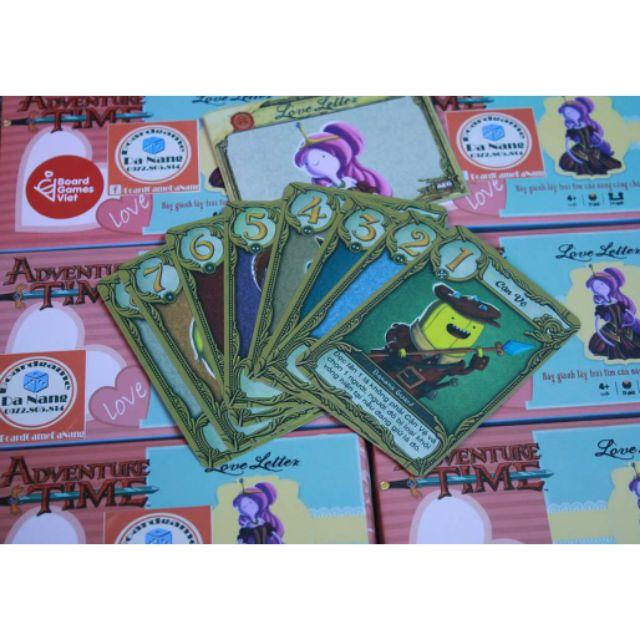 Boardgame LOVE LETTER VIỆT HOÁ - CHINH PHỤC CÔNG CHÚA