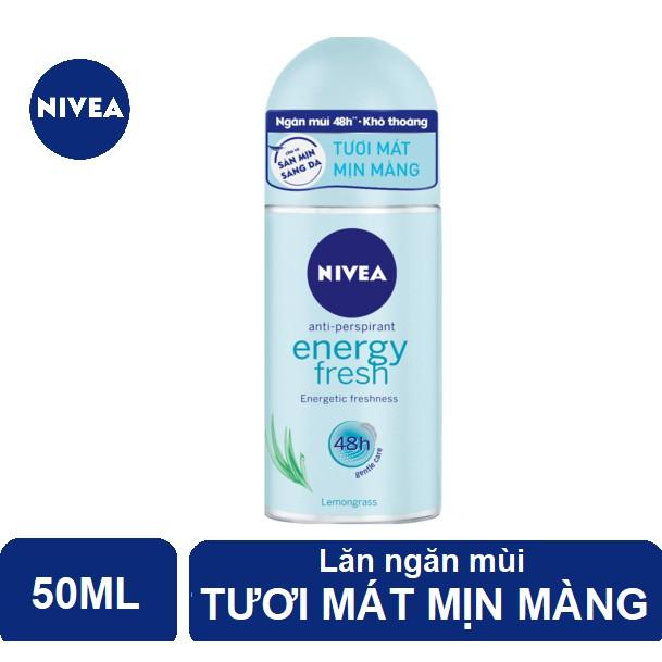 Lăn ngăn mùi Nivea tươi mát sức sống (50ml) - 83754