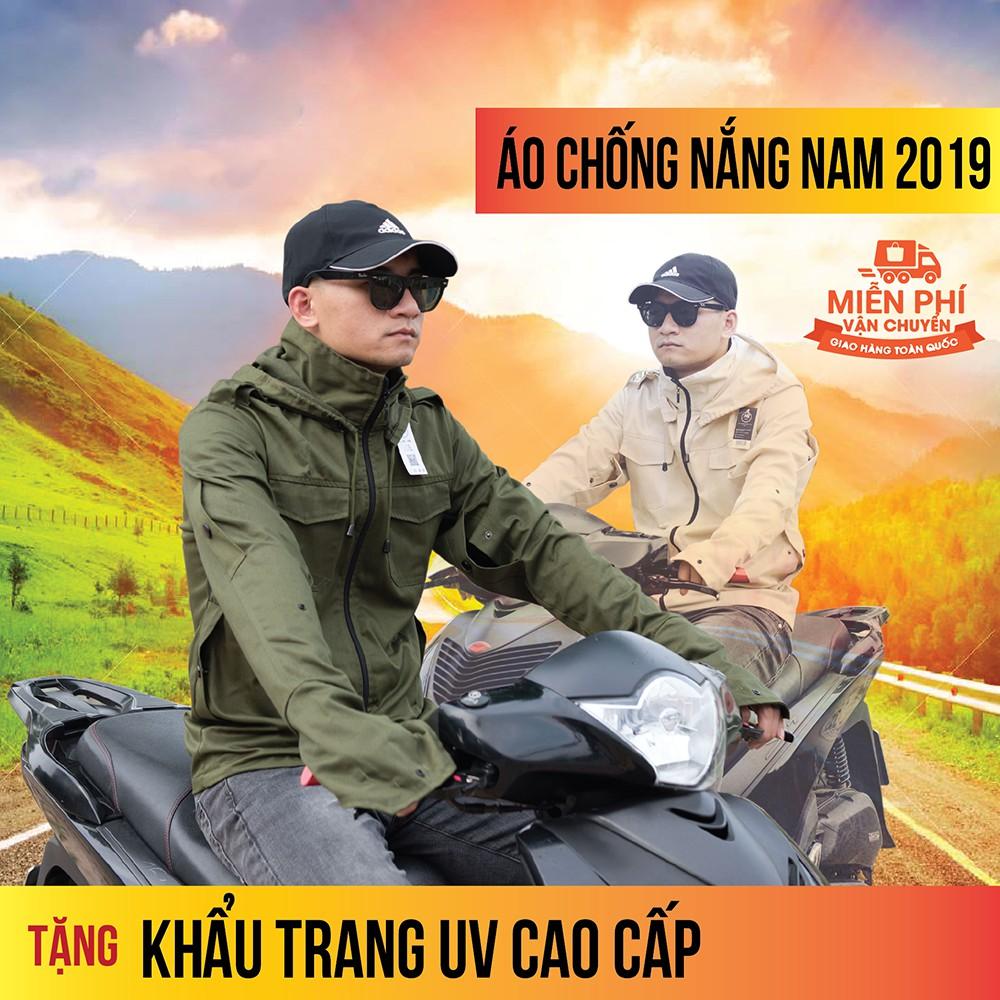 Áo Chống Nắng Nam M2store cao cấp đẹp tại Hà Nội 2019 - ÁO KHOÁC CHỐNG NẮNG NAM