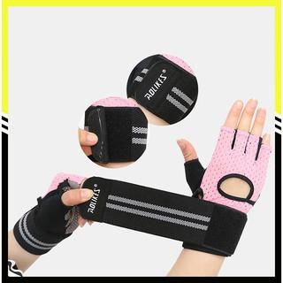Găng tay thể thao nam nữ chính hãng Aolikes phiên bản nâng cấp 2 trong 1 tiện ích