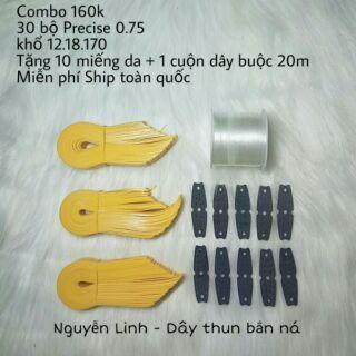 Combo 30 precise 0.75 + 1kg bi sắt