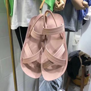 Sandal nhựa quai chéo đi mưa thoải mái-DG17