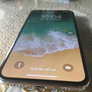 Điện thoại iPhone x 256gb màu bạc chính hãng tgdđ còn bảo hành