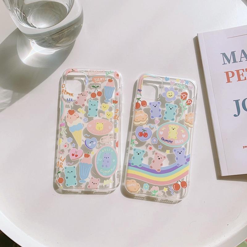เคสมือถือซิลิโคน TPU สำหรับ iphone 11 X Xr Xs 8plus 7plus 7 6s