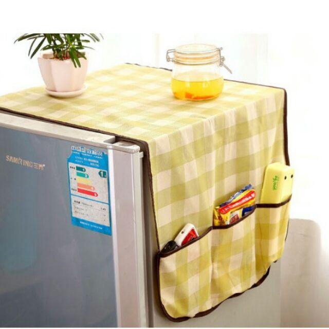Tấm phủ tủ lạnh che bụi - 2810061 , 57898285 , 322_57898285 , 39000 , Tam-phu-tu-lanh-che-bui-322_57898285 , shopee.vn , Tấm phủ tủ lạnh che bụi