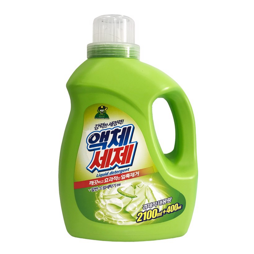 [Mềm mại cho làn da] Nước giặt Sandokkaebi đậm đặc 2.5L - Nhập khẩu Hàn Quốc