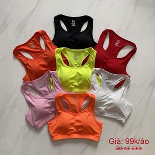 Yêu Thích[SALE] Áo Tập Gym Yoga Xuất Khẩu Minatex, Áo bra tập gym nữ