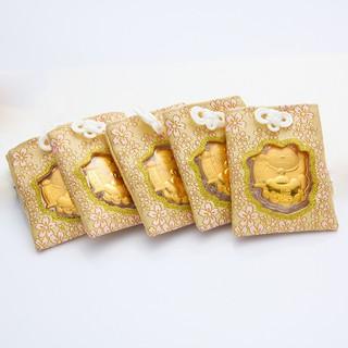 ANCARAT-Mèo chiêu tài túi thơm vàng 24k chiêu tài, chiêu lộc