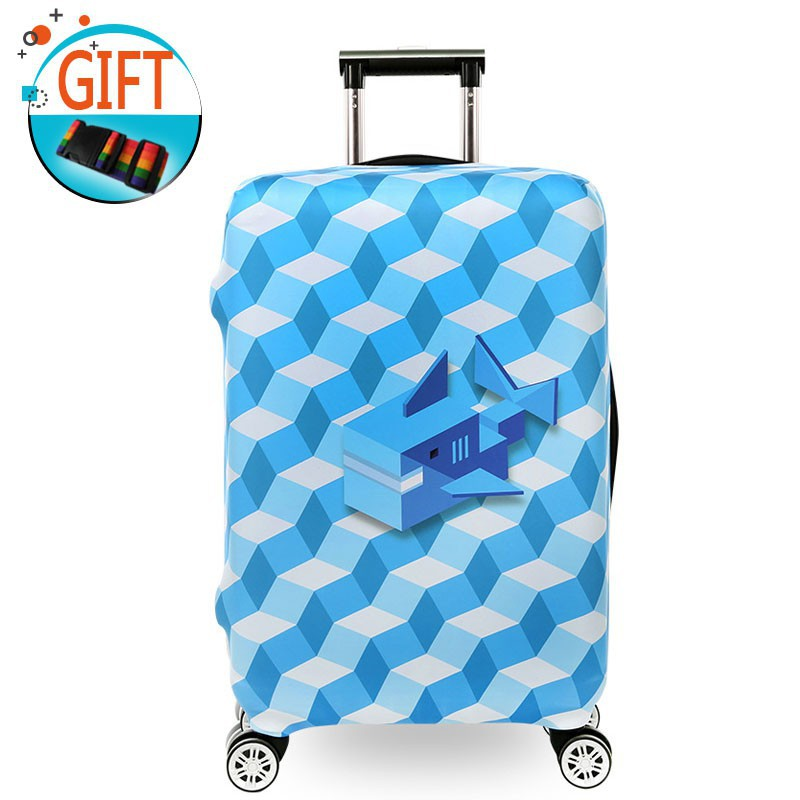 Travel Luggage Suitcase Cover Protector Anti Scratch 18-32 Elastic Dustproof Bag
