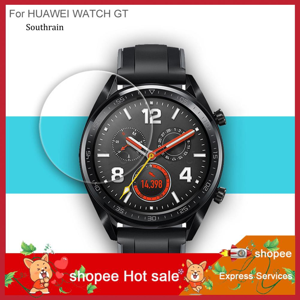 STRN_0.26mm 2.5D Curved Tempered Glass Screen Protector Film for Huawei Watch GT