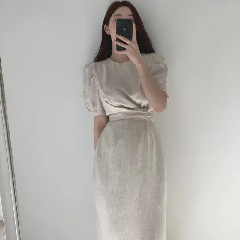 Váy Nilen Xoắn Eo tôn dáng che khuyết điểm