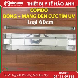 [Flash Sale] Bộ Máng + Bóng UV 60cm Đèn Cực Tím Diệt Khuẩn Không Khí – Giá rẻ – Chất Lượng – Tốt Nhất 2019 Giá rẻ số 1