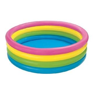 Bể bơi tròn cầu vồng intex cỡ đại 1m68